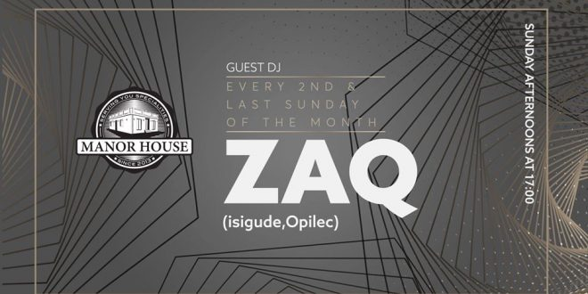 Sundays with Zaq at Manor House